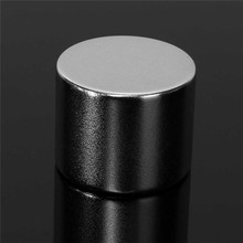 1PC 25 x 20mm Strong Round Cylinde Magnets Rare Earth Neodymium Permanent Magnet N52 Powerful Magnet Hard to apart away(China)