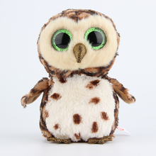 Ty Beanie Boos Brown Owl Plush Toy Doll Stuffed Animals & Plush