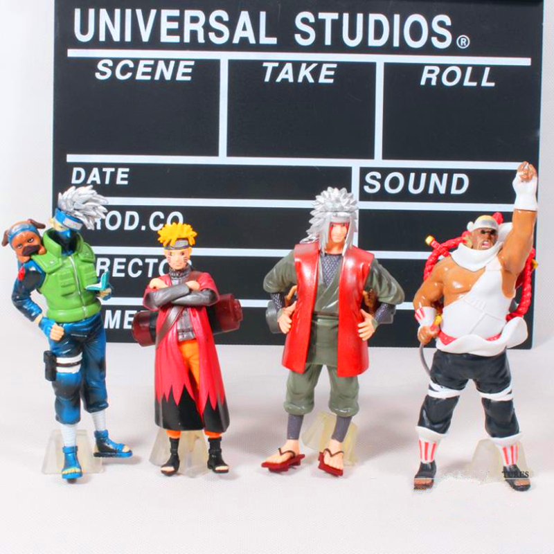 Anime Naruto Figures Kakashi Minato Bee Jiraiya Uzumaki Naruto PVC Action Figure Model Toys Dolls Free Shipping 4pcs/set WU674<br><br>Aliexpress