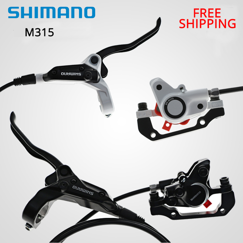 shimano BR-BL-M315 M315 M365 M355 M395 M447 Brake bicycle bike mtb Hydraulic Disc brake set clamp mountain bike Brake<br>