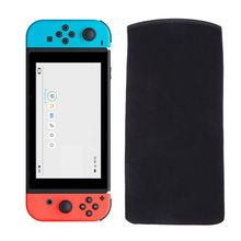 Buy 1 Pc Game Console Carrying Case Screen Protection Sheet Bag Nintendo Switch Soft Black Game Console Protective Shell for $1.37 in AliExpress store