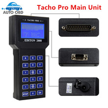Universal Tacho Pro V2008 July Version Main Unit Unlock Version Free Shipping Tacho Pro 2008 Main Unit(China)