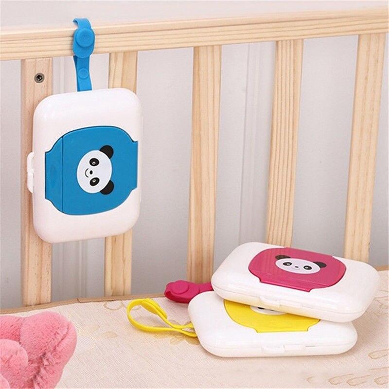 Caja dispensadora de toallas ideal para viajes