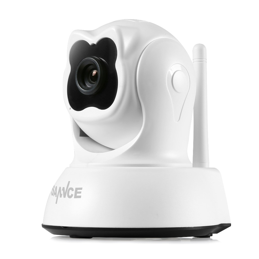 SANNCE WiFi IP Camera Home Security Camera 720P Night Vision Infrared Two Way Audio 1.0MP Baby Camera Monitor Cute Wireless Cam <br><br>Aliexpress