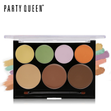 Party Queen Camouflage Cream Palette Color Corrector & Concealer Makeup Kit Contouring Bronzer Concealing Flawless Face Primer(China)