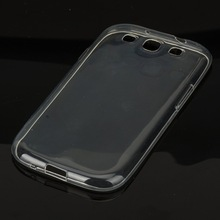 For Samsung Galaxy S3 Neo Transparent Silicone Case Soft Slim Tpu back cover on S 3 SIII S III NEO+ Ve I9300I i939