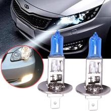 Buy Vehemo 1PC H1 12V 100W Super White Halogen Bulb FOG BEAM LAMP LIGHT XENON Halogen High Beam Headlight Fog Light Bulbs Universal for $1.11 in AliExpress store