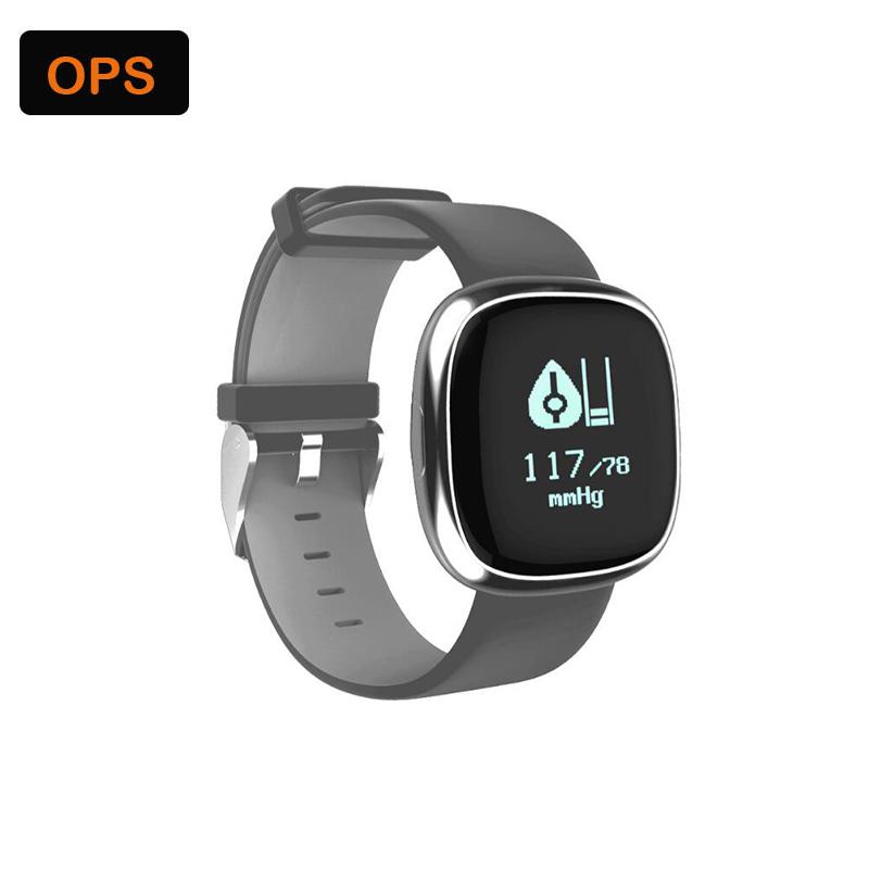 Waterproof Smart Bluetooth Heart rate Sport Sleep Tracker Wristband ,Bracelet&Intelligente beweging volgen voor De man en de vr 4