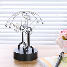 creative electric perpetual wiggler ornament Physics teaching Newton pendulum ball home and office decoration