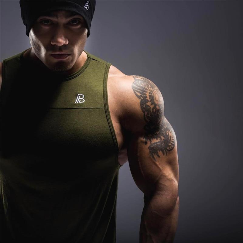 Mens Tank Tops Shirt-4