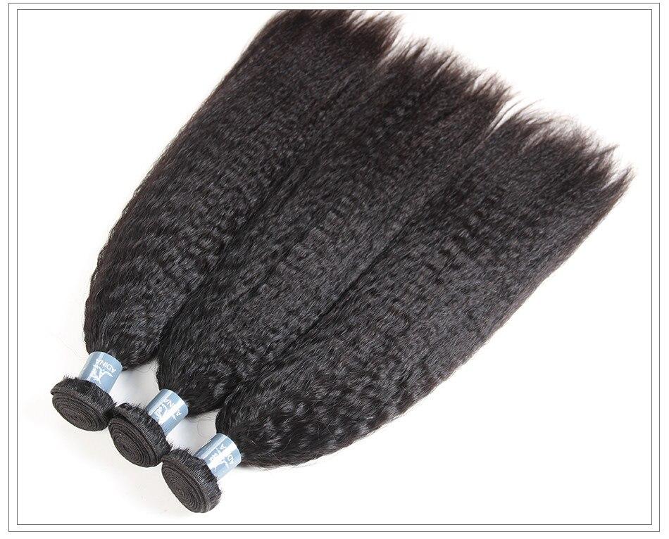 Amanda virgin hair weave yaki12