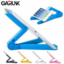 Universal Tablet PC Stands, GARUNK Foldable Adjustable Rotating Stand Holder Lazy Support for 5.0 -10 inch Phone and iPad 2 3 4(China)