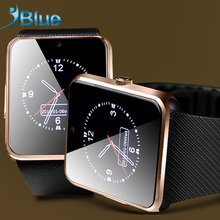iBlue for Smart watch GT08 Bluetooth connectivity for apple iphone IOS android smartwatch phone for samsung sport smartwatch(China)