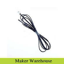 1M NTC Thermistor Temperature Sensor Waterproof Probe Wire 10K 1% 3950