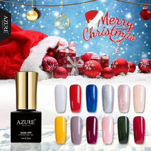 Azure Beauty DIY Nail Art Christmas UV Nail Gel Polish Soak Off UV XMAS Color Series Led Gel Nail Varnish Long Lasting Gel Glue