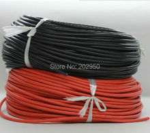 14 AWG 10 Feet(3m) B/R Gauge Silicone Wire Flexible Stranded Copper Cable For RC Car Airplane Helicopter Multi-rotor Free Ship(China)