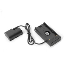 New NP-F970 F-series Battery Power Supply Plate to LP-E6 DC Battery for Canon EOS 7D 5D 6D 60D 60Da Mark II III Camera