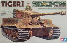 35146 1/35 WWII German Tiger I Tank Model Late Version Unassembled Tank Model Kits