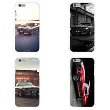 Soft TPU Silicon Coque Case Capa 1967 Ford Mustang Shelby Gt500 For Apple iPhone 4 4S 5 5C SE 6 6S 7 7S Plus 4.7 5.5