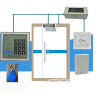 RFID Access Control System Kit include Electric Magnetic Lock + Access Control Power Supply + Proximity Door Entry keypad+keys(China)