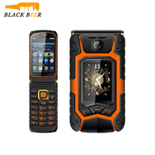 Mosthink Land Flip Phone Rover X9 Clamshell 3.5 inch One Key Dial Call Mobile Phone Mp3 Playback Cellphone Push-Button Hot Sale(China)