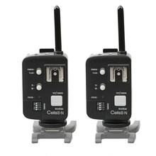 2PCS Godox Cells II Wireless Speedlite Transceiver+Trigger High Sync Speed For Nikon D5100 D7000 D7100