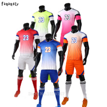 Soccer jerseys men college custom football jerseys cheap soccer set breathable football uniforms kits survetement football 2017(China)