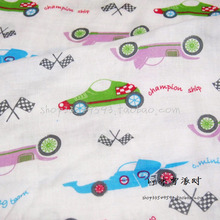 130*50cm 1pc Racing Car Fabric 100%Cotton Fabric Patchwork Cotton,Colourful Racing Car  Printed Fabric Quilting Home For Sewing