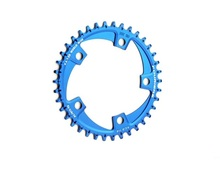 Buy FOURIERS CROSS Chainring system A7075 Alloy Cross-country road Bike Chain ring Chainwheel Road Bikes Parts PCD 110MM 38T/40T/42T for $67.99 in AliExpress store
