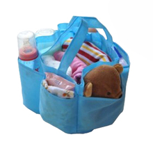 Cheap Price! Blue/Red Outdoor Travel Portable Bag Excellent Nappy Changing Water Milk Bottle Storage Blue(China)