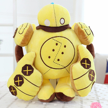 Candice guo plush toy stuffed doll cartoon animal LOL Blitzcrank Robot Great Steam Golem Anime computer game birthday gift 1pc(China)