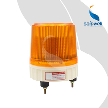 IP54 waterproof 12/24/110/220/380V AC/DC screw fixed traffic safety yellow warning led amber strobe flash barricade lights