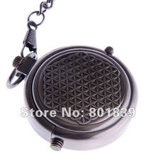 Special Style Gun Color Wind Up Mechanical Men's Pocket Watch Nice Gift Wholesale Price H170