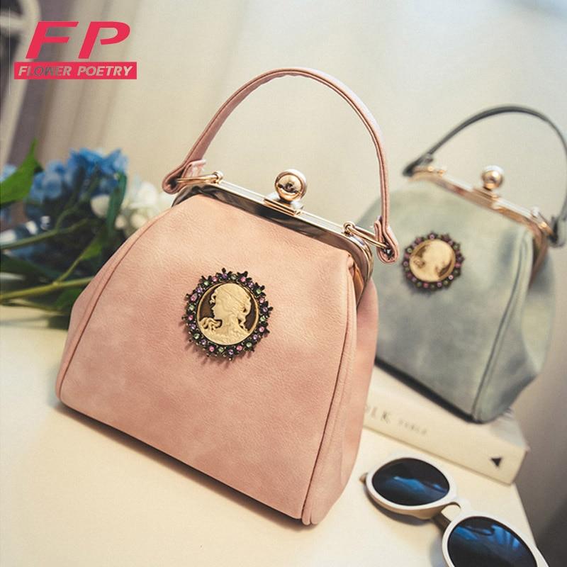Fashion Womens Tote Retro Shoulder Bag PU Leather Handbag Womens Messenger Bag For Ladies Europe Style Bags bolsas femininas<br><br>Aliexpress