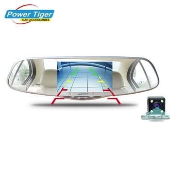 100% Первоначально Новатэк 96655 Full HD 1080 P Автомобильный ВИДЕОРЕГИСТРАТОР 5 дюймовый Большой Экран зеркало Заднего Вида Автомобиля Dash Cam Камеры Черный коробка