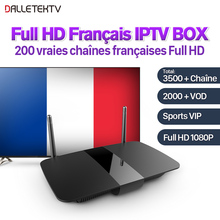 Buy Full HD French Iptv Box 3500+Channels IPTV Arabic French IPTV Box 1 Year SUBTV Subscription Arab France VIP Sports IPTV VOD for $85.75 in AliExpress store