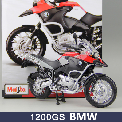1pcs Motorbike Assembly 1200GS S1000R Tomahawk Motorcycle Road Racing DIY Toys Classical 1:12 Model Metal Boys Model Gift Maisto<br><br>Aliexpress