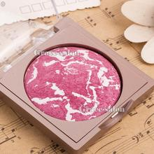 Rose Red Makeup Bake Blusher Palette Blush Powder Silk Cheek Contour Nude