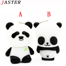 JASTER animal Panda  USB Flash Drive mini Panda pen drive  special gift fashion hot sale cartoon 4GB/8GB/16GB/32GB