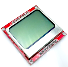 10pcs/lot 84X48 Nokia 5110 LCD Module with backlight adapter PCB Free Shipping Dropshipping(China)
