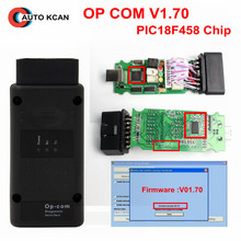 2017 with real pic18f458  OPCOM V1.70 firmware A+++ quality OP-COM For Opel Diagnostic-tool OP COM can be flash update