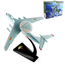 Alloy air police 2000 early warning aircraft model military series KJ-2000 Christmas New Year gift Collection of ornaments(China)