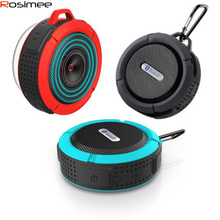 100pcs Bluetooth Speaker Portable Wireless Waterproof Shower Speakers Handsfree with Mic/Suction Cup Music Mini Boombox Soundbar
