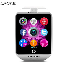 LAOKE Bluetooth Touch Clocks smartwatch sleep monitor waterproof watch android IOS Support video camera Smart watches for men