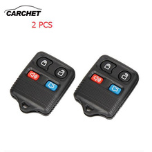 CARCHET 2X New Replacement Keyless Entry Remote Key Fob for Ford Focus Escape Explorer Car Key Case Key Cover(China)