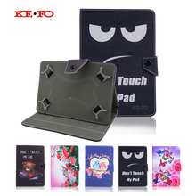 PU Leather Universal Cover for Ainol Novo 9 Spark/Spark II/Spark 2 10.1 inch Case Flip Tablet Bag Large Size+Center Film+pen(China)