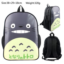 Ghibli Totoro Anime School Backpack Bags For Boy Girls Cartoon Character Tonari no Totoro Shoulder Bag Student Bookbag