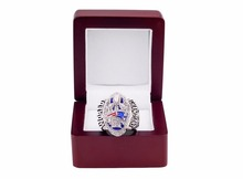 Cost Price New Arrival 2016 2017 New England Patriots Super Bowl Championship Rings for fans size 6 to 15 with Wooden Box(China)