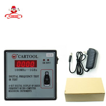 Car IR Infrared Remote Key Frequency Tester (Frequency Range 100-1000MHZ) Remote Control Digital Frequency Test