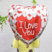 10pcs/lot 30inch LOVE heart balloons large diamond wedding foil balloon party decoration birthday baloes